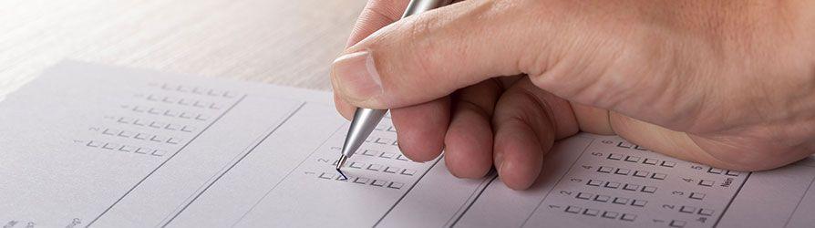Abschlussprüfung zur Einzelhandelskauffrau
